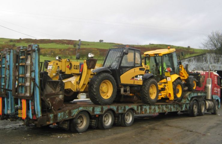 Plant Hire by John Roberts Ffestiniog North Wales